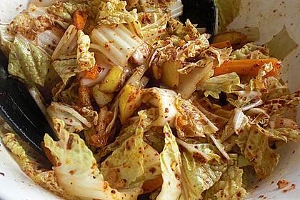 Baechu Kimchi - Chinakohl pikant nach koreanischer Art 7