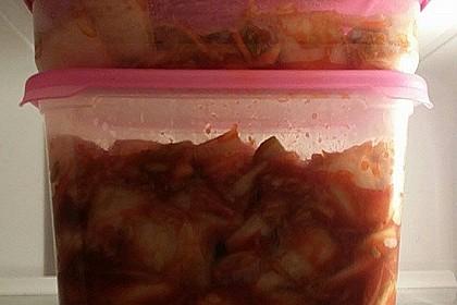 Baechu Kimchi - Chinakohl pikant nach koreanischer Art 9