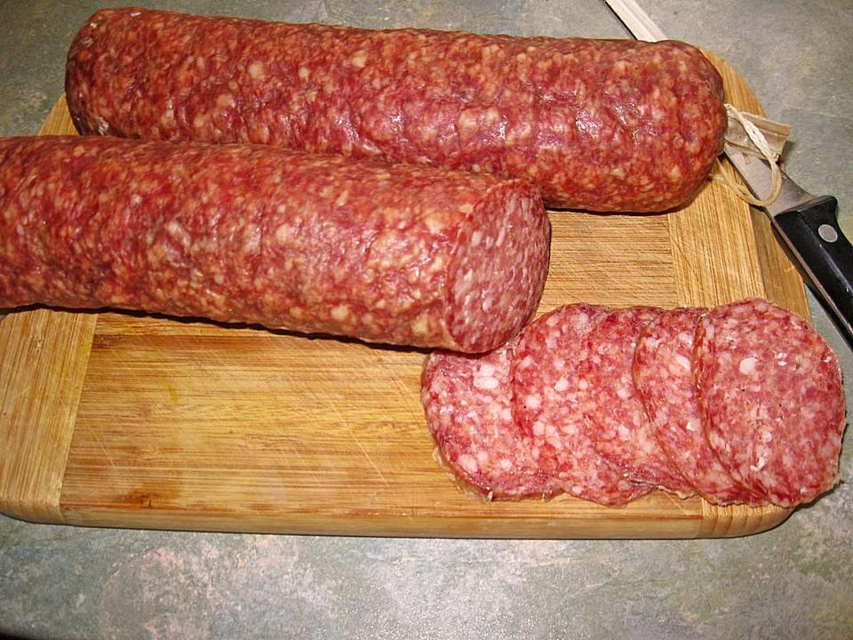 Ungarische Salami Zutaten