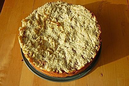 Apfelkuchen mit Mandel - Honig Glasur 1