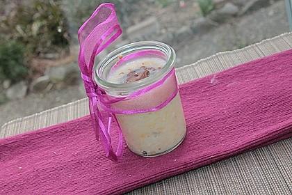 Banane - Kokos - Creme mit Schokohaube 3