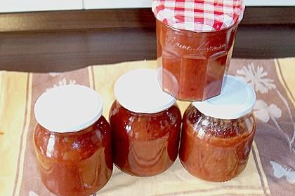 Pflaumen - Apfel - Zimt  Marmelade 3