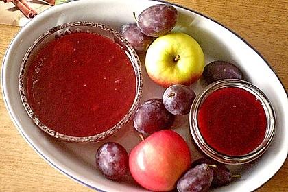 Pflaumen - Apfel - Zimt  Marmelade 2