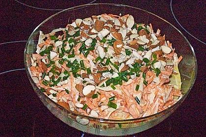 Winterlicher Karotten- bzw. Möhrensalat 2