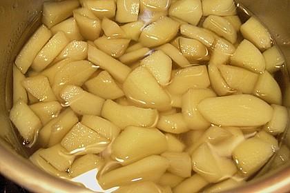 Kandierter Ingwer und Ingwer - Orangensirup 8