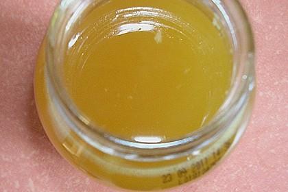 Kandierter Ingwer und Ingwer - Orangensirup 18