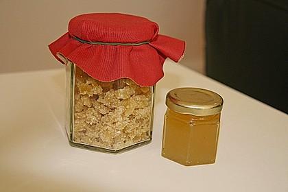 Kandierter Ingwer und Ingwer - Orangensirup 4