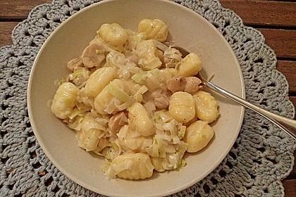 Cremige Gnocchi - Pfanne