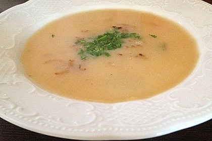 Töginger aufgeschmolzene Grießsuppe 5