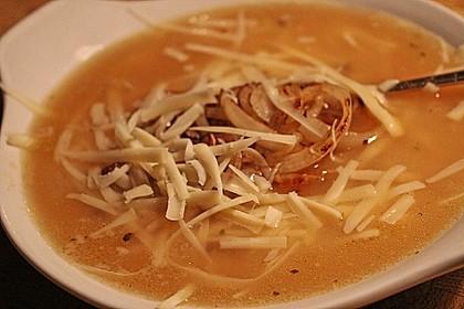 Töginger aufgeschmolzene Grießsuppe 6