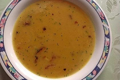 Töginger aufgeschmolzene Grießsuppe 2