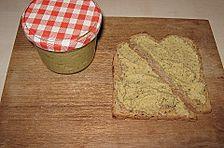 Brotaufstrich von Putenschnitzeln