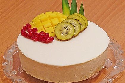 Mango - Kokos Wintertraum Torte 3