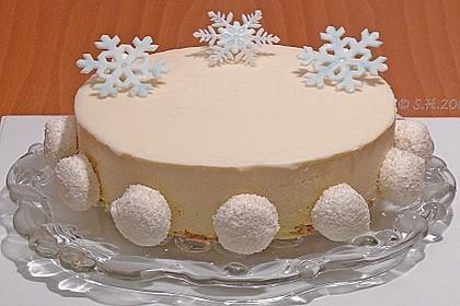 Mango - Kokos Wintertraum Torte 2