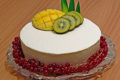 Mango - Kokos Wintertraum Torte