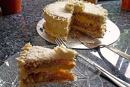 Mango - Kokos Wintertraum Torte 4