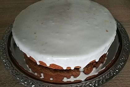 Saftiger Karottenkuchen ohne Margarine o. ä. 7