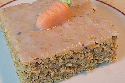 Saftiger Karottenkuchen ohne Margarine o. ä. 2