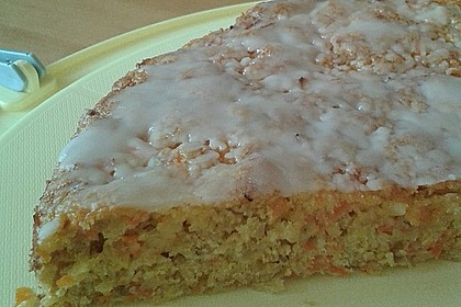 Saftiger Karottenkuchen ohne Margarine o. ä. 5