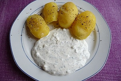 Dill - Sauerrahm - Dip 2