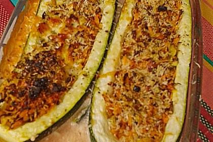 Gefüllte Zucchini 12