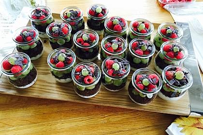 Dessert mit Weintrauben 23