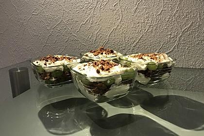 Dessert mit Weintrauben 51