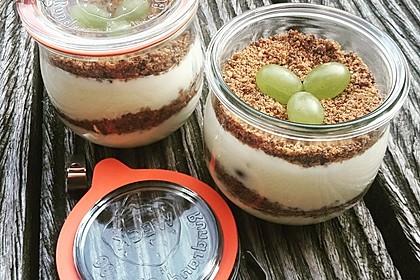 Dessert mit Weintrauben 2
