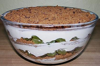 dessert mit weintrauben rezept mit bild von olgab1. Black Bedroom Furniture Sets. Home Design Ideas