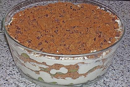 Dessert mit Weintrauben 46