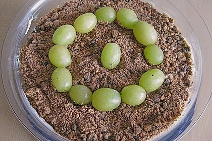 Dessert mit Weintrauben 49