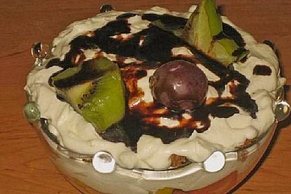 Dessert mit Weintrauben 70