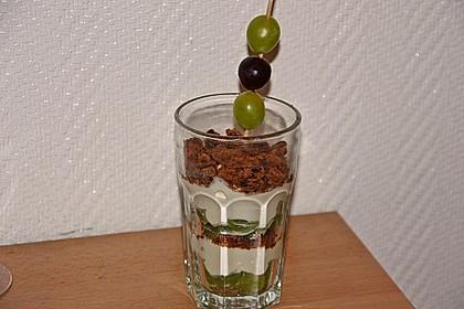 Dessert mit Weintrauben 39