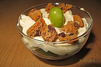 Dessert mit Weintrauben 52
