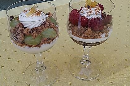 Dessert mit Weintrauben 62