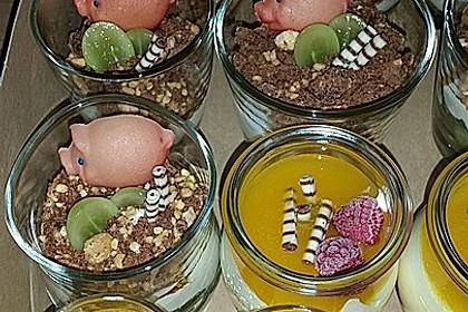Dessert mit Weintrauben 37