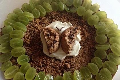 Dessert mit Weintrauben 29