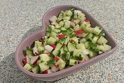 Radieschen - Gurken - Salat