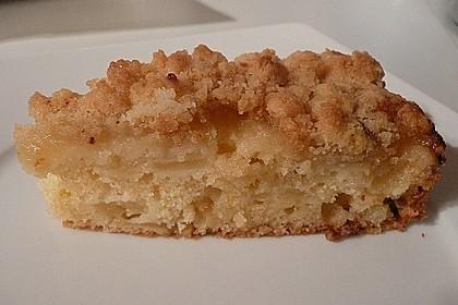 Liebster Apfel - Streuselkuchen in zwei Variationen 15