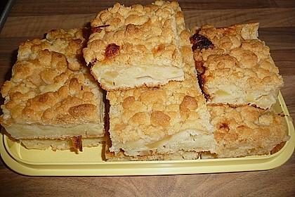 Liebster Apfel - Streuselkuchen in zwei Variationen 2