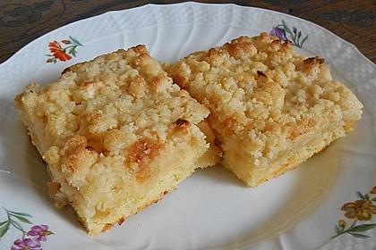 Liebster Apfel - Streuselkuchen in zwei Variationen