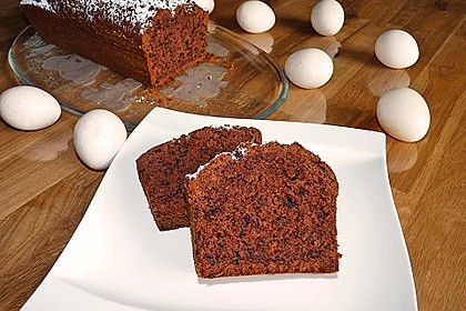 Rotweinkuchen, schön saftig 15