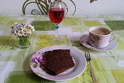 Rotweinkuchen, schön saftig 11