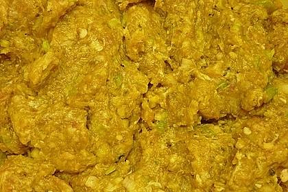 Duftende Thai - Fleischbällchen mit Erdnuss - Sauce 15