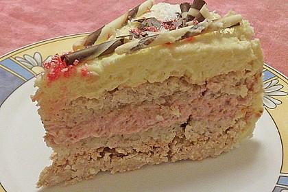 Himbeer - Kokos Wintertraum - Torte 4