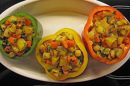 Paprika gefüllt mit Kartoffeln 1