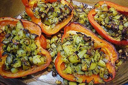 Paprika gefüllt mit Kartoffeln 2