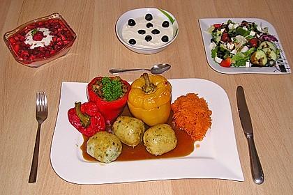 Paprika gefüllt mit Kartoffeln 6