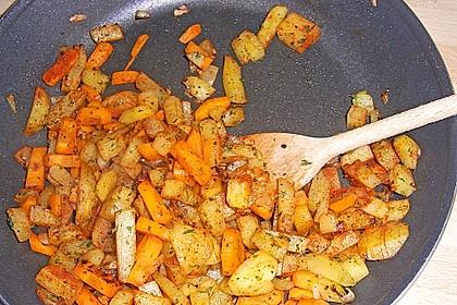 Paprika gefüllt mit Kartoffeln 20