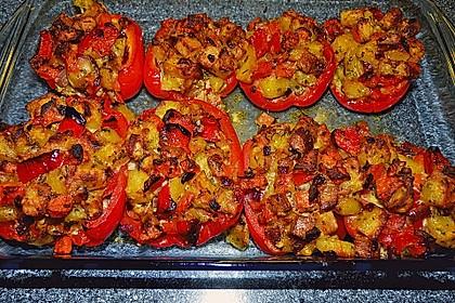 Paprika gefüllt mit Kartoffeln 9